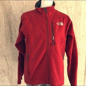 The North Face Red Apex Men's Zip-up Jacket